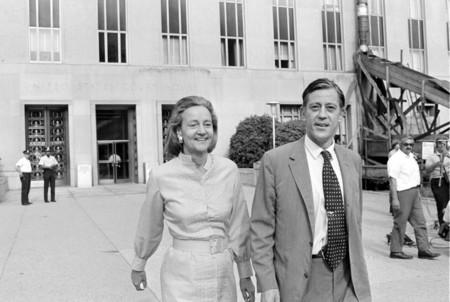 Katherine Graham y Ben Bradlee