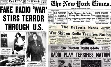 El mito del pánico que causó La Guerra de los Mundos y las fake news de los  años 30