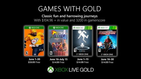 Rivals of Aether y Portal: Still Alive entre los juegos de Games With Gold de junio