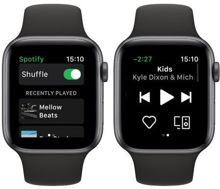 Spotify En Apple Watch