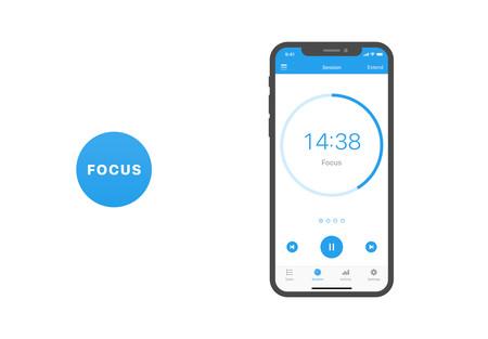 Focus, la app que te ayuda a centrarte en el trabajo: App de la Semana