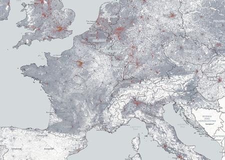 Mapa Demografico Europa