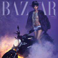 El Purple Rain más chic viene de la mano de Harper's Bazaar y rinde homenaje a Prince