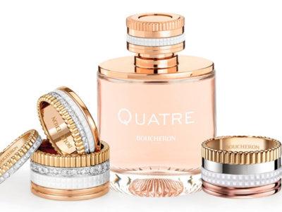 Quatre, el nuevo perfume joya de Boucheron
