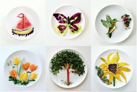 Lauren Purnell captura la naturaleza en un plato combinando alimentos