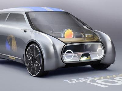 Para MINI el futuro va de coches autónomos, colaborativos y con proyección integrada