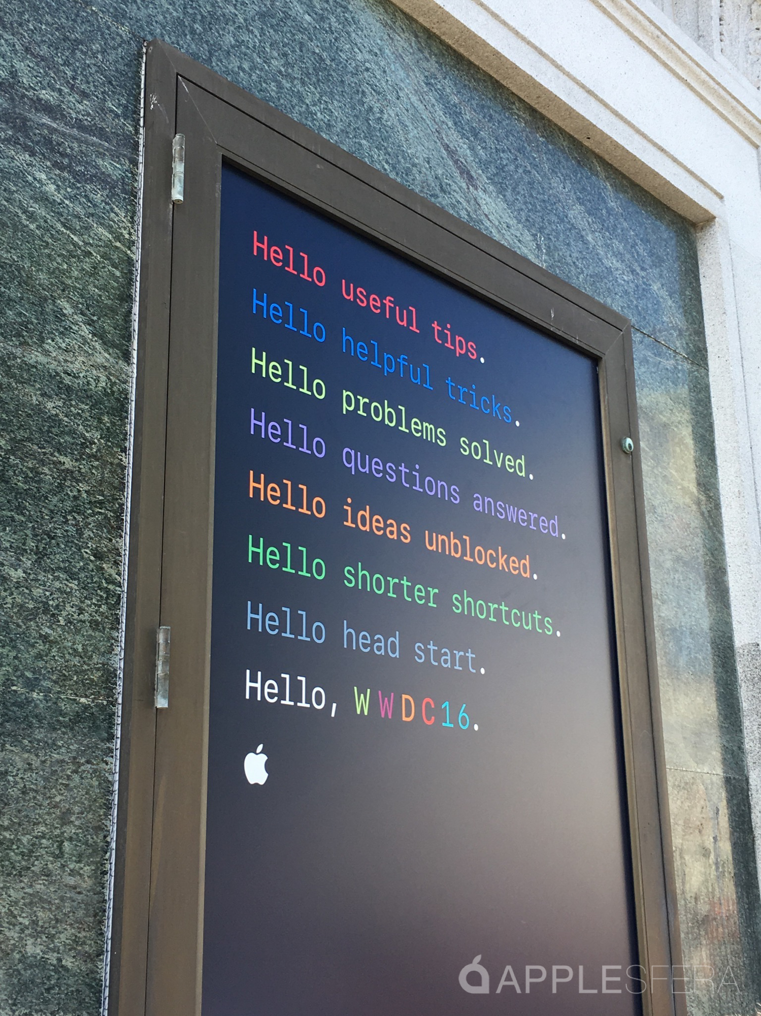 Primeras imágenes WWDC16