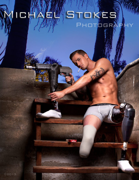 Veteran Amputees Hot Calendar Photoshoot Always Loyal Michael Stokes 10
