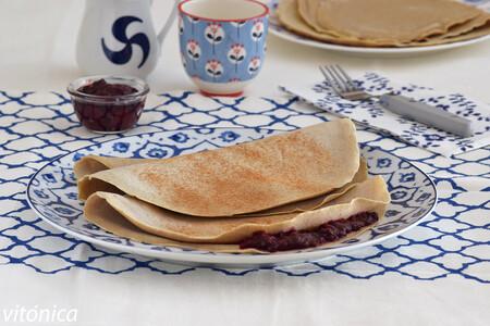 Crêpes de trigo sarraceno o alforfón: receta saludable sin gluten para rellenar al gusto