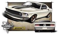 Anvil Pro-Touring Mustang, escaparate de fibra de carbono para el SEMA Show