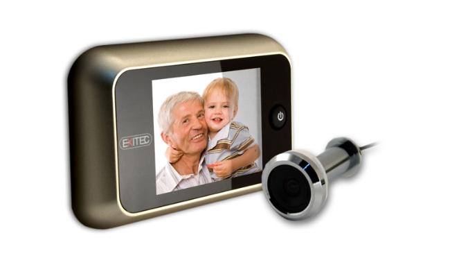 Mirillas digitales seguridad y comodidad para ver qui n - Mirillas digitales para puertas ...