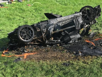 Richard Hammond se accidenta dramáticamente durante la filmación de The Grand Tour