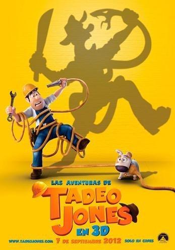 Cartel de 'Las aventuras de Tadeo Jones'