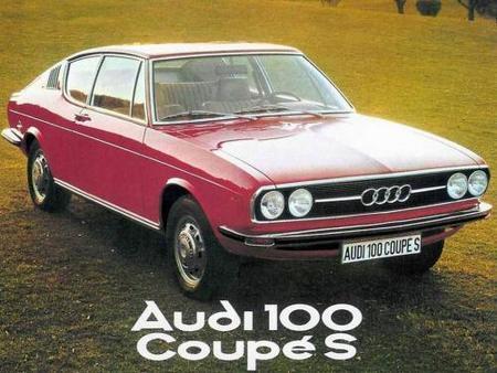 Audi 100 Coupé S, el primero de la saga