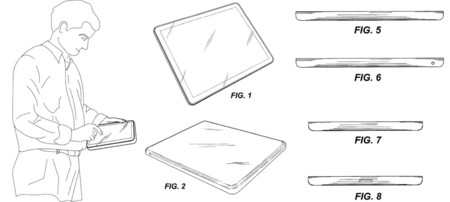 El tablet rectangular: Apple