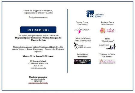 Lujo y Blogs: apuntes de la Mesa redonda en el IE de Madrid