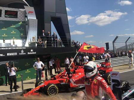 Vettel Ferrari F1 2018