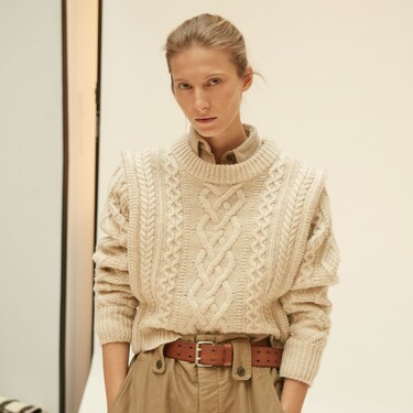Clonados y pillados: este es el jersey con hombreras de Isabel Marant que puedes encontrar por (mucho) menos en Mango