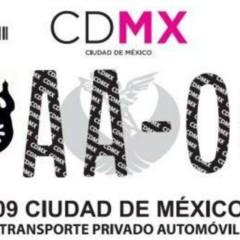 Foto 5 de 9 de la galería nuevas-placas-cdmx en Motorpasión México