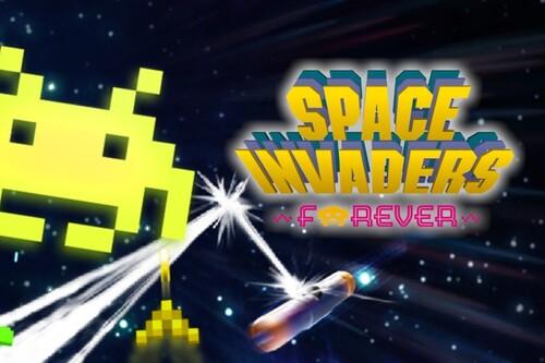 Space Invaders Forever, un lote que conmemora más de cuatro décadas del clásico de Taito (junto con Arkanoid)