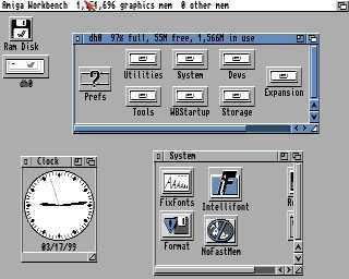 UAE4ALL, emulador Amiga para Symbian S60