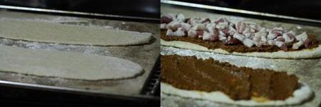 Hacer pizza de pesto rojo
