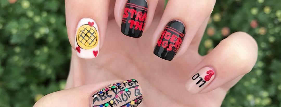 Las uñas a lo Stranger Things son la manicura que necesitas para ...