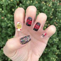 Las uñas a lo Stranger Things son la manicura que necesitas para engancharte a la segunda temporada