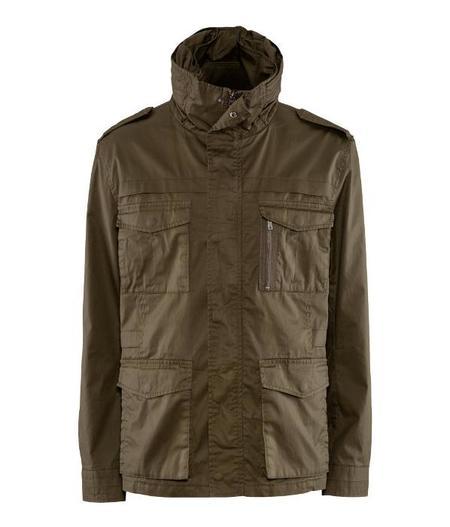 H&M chaqueta impermeable