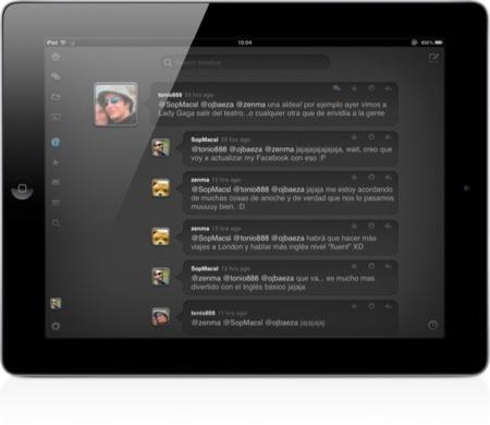 Tres alternativas al cliente oficial de Twitter para el iPad