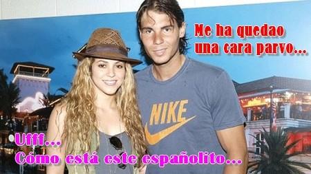 Shakira fan número uno de Nadal
