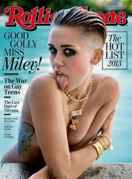 miley cyrus rolling stone