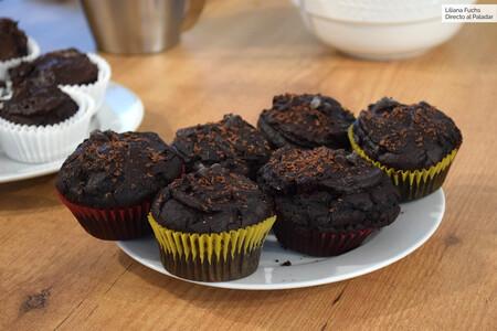 Magdalenas O Muffins De Calabaza Y Chocolate