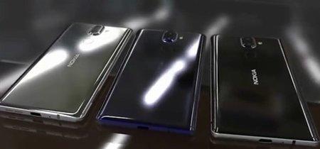 El Nokia 9 y el Nokia 8 2018 llegarían en enero con pantallas 18:9 sin marcos