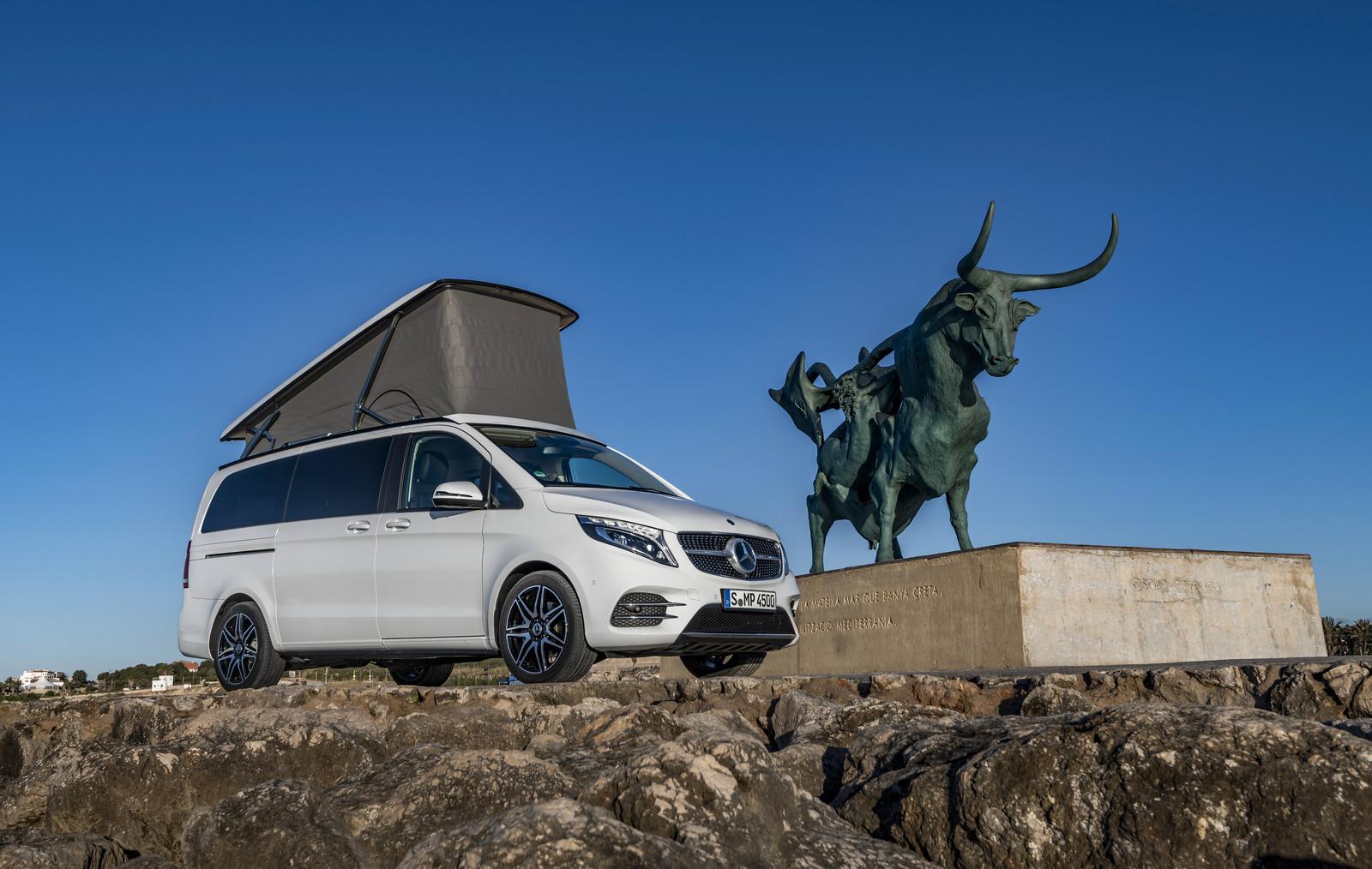 Foto de Mercedes-Benz Marco Polo 2019 (13/49)