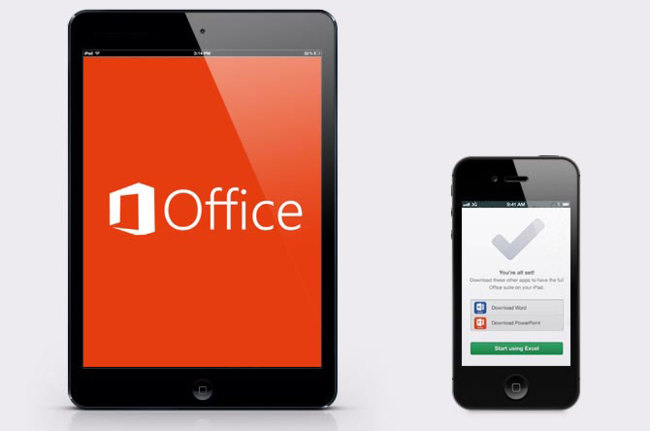 Microsoft Office para iOS