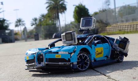 Este Bugatti Chiron de LEGO es más rápido a escala de lo que sería el Chiron de verdad
