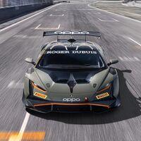 El Lamborghini Huracán Super Trofeo EVO2 de carreras adelanta rasgos de los futuros toros de calle, incluyendo un guiño al Countach