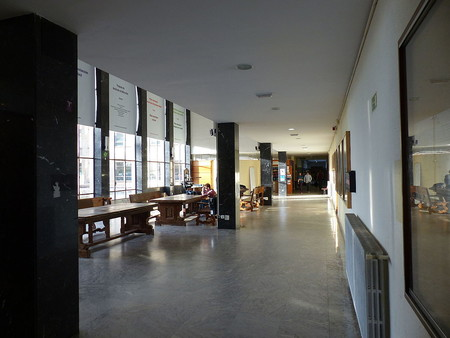 Facultad De Bellas Artes Sala Universidad Complutense Madrid Espana 2015