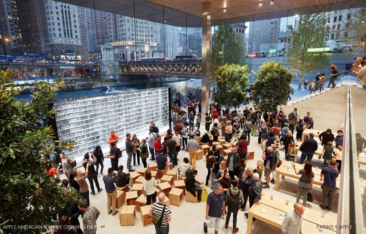 Foto de Nueva Apple Store en la Avenida Michigan de Chicago (1/11)
