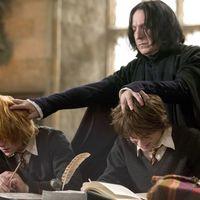 """Alan Rickman se sintió """"frustrado"""" dando vida a Snape en la saga 'Harry Potter'"""