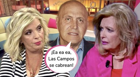 Kiko Matamoros, en guerra con Las Campos: pone a caldo de María Teresa y Carmen Borrego saca las garras