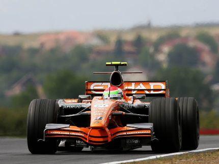 El farolillo rojo de la Fórmula Uno