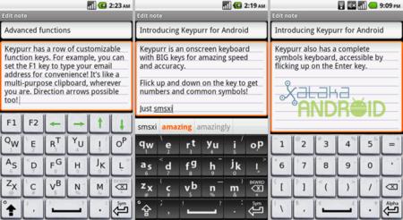 Keypurr teclado alternativo