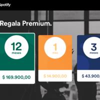 Así puedes regalar suscripciones de Spotify Premium esta Navidad