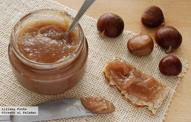 Crema dulce de casta as receta de postre f cil y sencilla - Pure de castanas y manzana ...