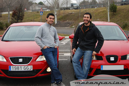 SEAT Ibiza 2008 contra SEAT Ibiza 2006