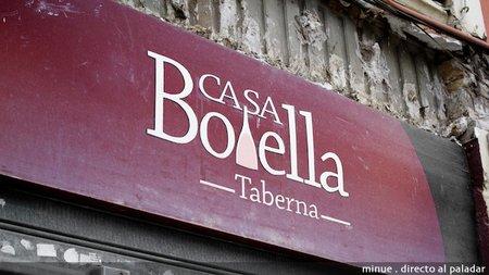 Restaurante Casa Botella, buena cocina cerca del mercado de Ruzafa en Valencia