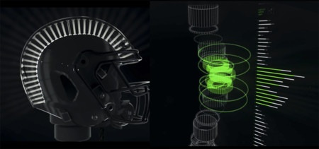 Un casco de fútbol americano para reanimar la industria de la moto