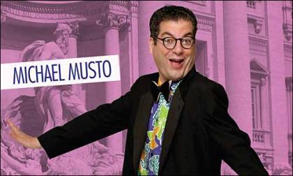 Michael Musto parodia a Lindsay Lohan en plan Marilyn